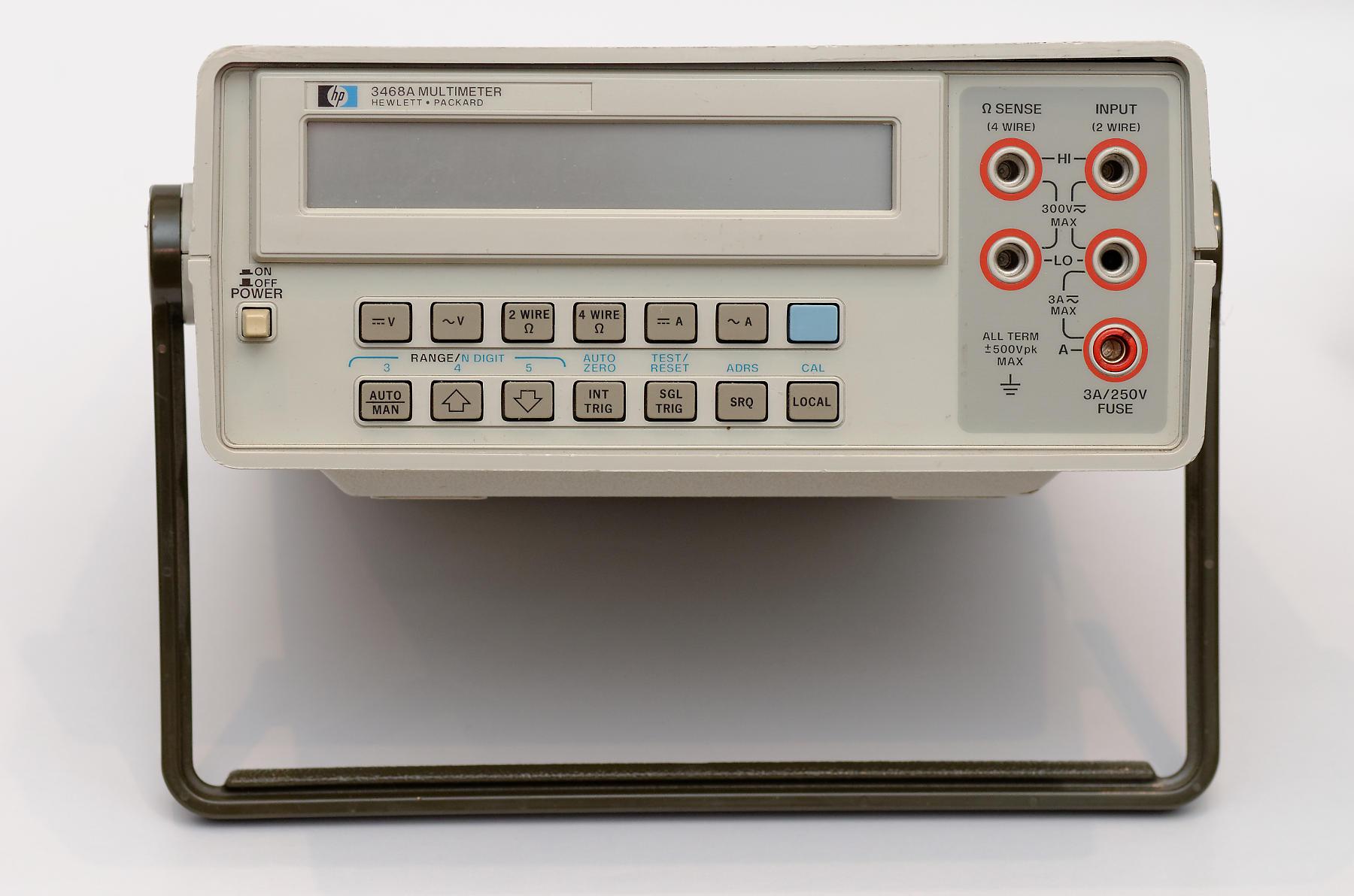 Hp3468a Multimeter
